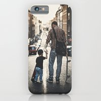 iPhone & iPod Case featuring Skateboarders by Marko Mastosaari