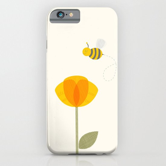 Bee a Flower iPhone & iPod Case