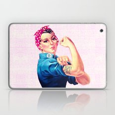 Fight Like A Girl Rosie … Laptop & iPad Skin
