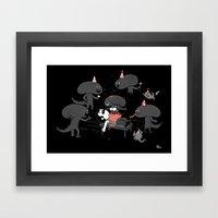 Surprise!!! Framed Art Print