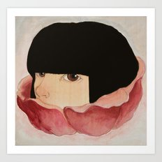 In Bloom :: I See You Art Print