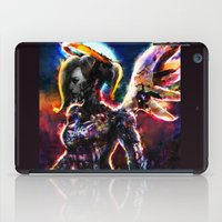 metal angel iPad Case