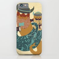 iPhone & iPod Case featuring The Bearded Men of the Sea by Farnell