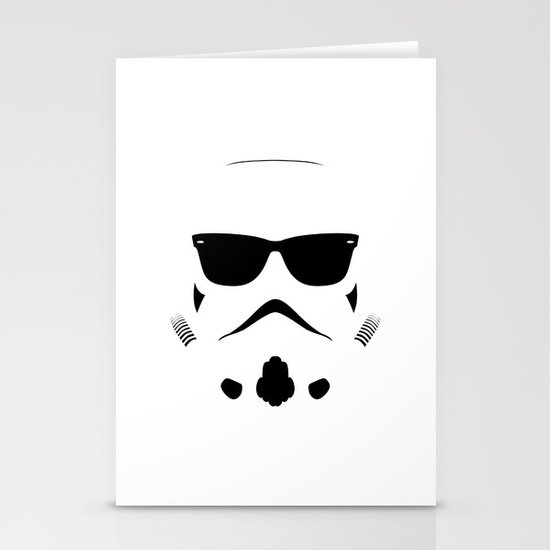 Shadetrooper Stationery Card