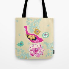 Birds and Blooms 1 Tote Bag