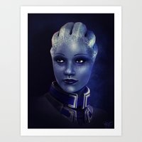 Mass Effect: Liara T'son… Art Print