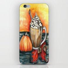Fall Coffee iPhone & iPod Skin