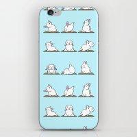 Bunnies Yoga iPhone & iPod Skin