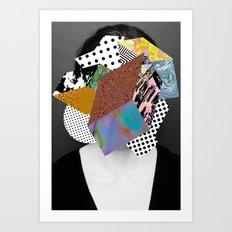 Too Much Going On Art Print