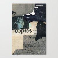 75¢ copies Canvas Print