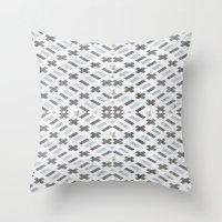 Digital Square Throw Pillow