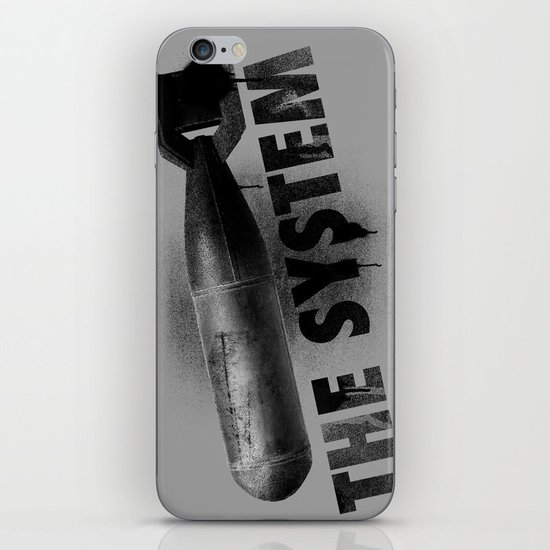 Bomb the System iPhone & iPod Skin