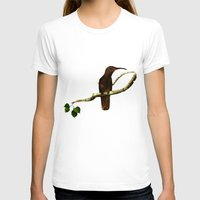 Preety Dirty Little Things Womens Fitted Tee White SMALL