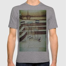 In Search Of Mens Fitted Tee Athletic Grey SMALL