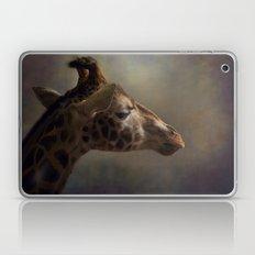 Portrait Of A Giraffe Laptop & iPad Skin