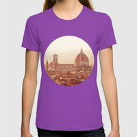 Florence Cathedral Womens Fitted Tee Ultraviolet SMALL