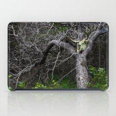 Forest Spirit Skull iPad Case