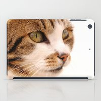 Best cat in town iPad Case