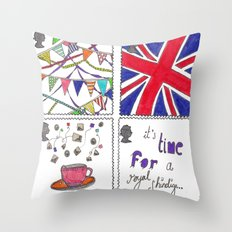 A Royal Shindig Throw Pillow