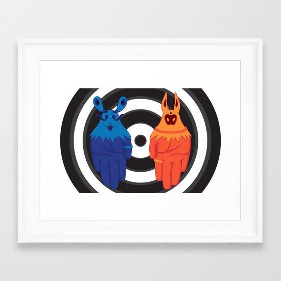 mAnimals Framed Art Print
