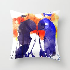 The Salvatore Brothers Throw Pillow