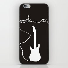 Rock On iPhone & iPod Skin