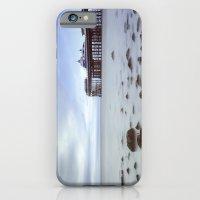 iPhone & iPod Case featuring Llandudno Pier by David P Hunter