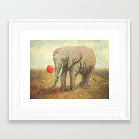 Truce Framed Art Print