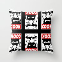 Cook - Breaking Bad Throw Pillow
