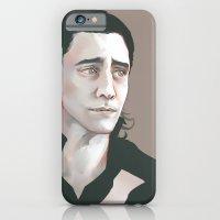 iPhone & iPod Case featuring Loki (Tom Hiddleston) by xephia