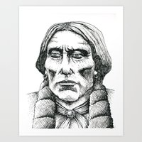 Quanah Parker, Last Chief of the Comanches Art Print