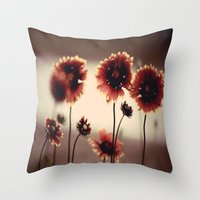 Daisy Chained Throw Pillow