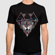 SPIRIT OF MOTION Mens Fitted Tee Black SMALL