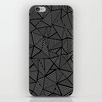 Abstraction Linear iPhone & iPod Skin