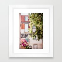 Lisbon Lamp Framed Art Print