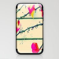 iPhone & iPod Skin featuring Autumn Leaves On The Wal… by Die Farbenfluesterin