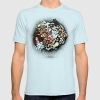 Isolating the Collective Unconscious Mens Fitted Tee Light Blue SMALL