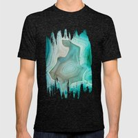 THE BEAUTY OF MINERALS 2 Mens Fitted Tee Tri-Black SMALL