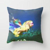 Mermaid Valley part I Throw Pillow