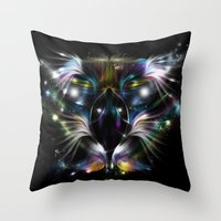 My Eagle - Magic Vision Throw Pillow