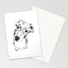 Mini Dachschund Stationery Cards