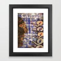 Cured. Framed Art Print