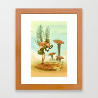 Goblins Drool, Fairies Rule! - Penny Clue Framed Art Print