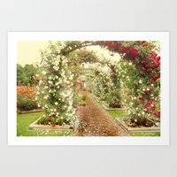 Promise Me A Rose Garden Art Print