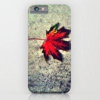 iPhone & iPod Case featuring Leaf by Efua Boakye