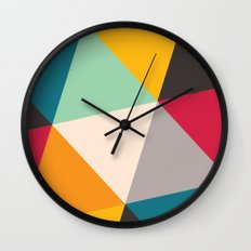 Triangles Wall Clock
