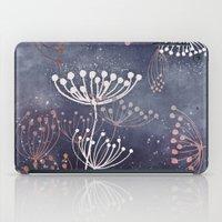 WONDERGARDEN ROSEGOLD BLUE iPad Case