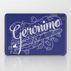 Geronimo! iPad Case