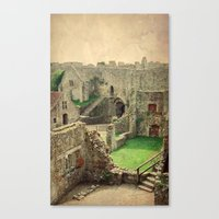 Carisbrooke Castle, Isle of Wight Canvas Print
