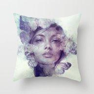 Throw Pillow featuring Adorn by Anna Dittmann